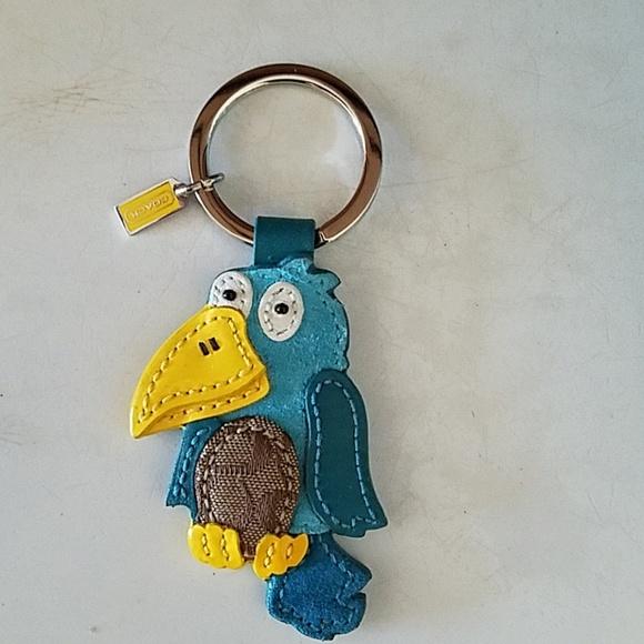 Coach Accessories - Coach toucan key fob